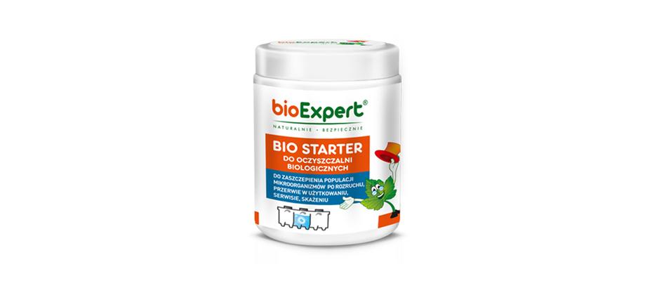 bioStarter - preparat do zaszczepienia populacji bakterii w przydomowej oczyszczalni