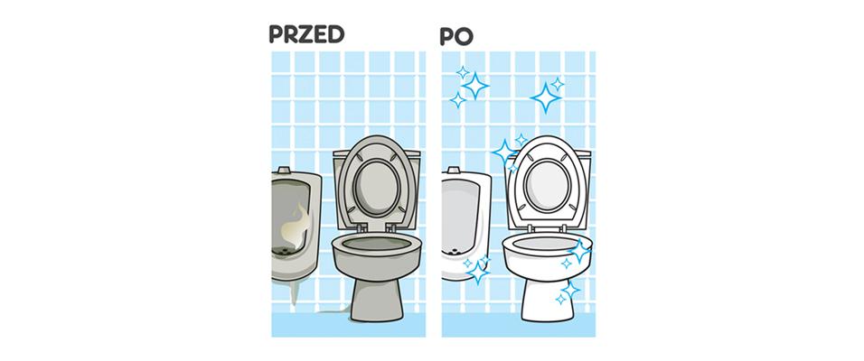 żel do czyszczenia łazienek bez chemii